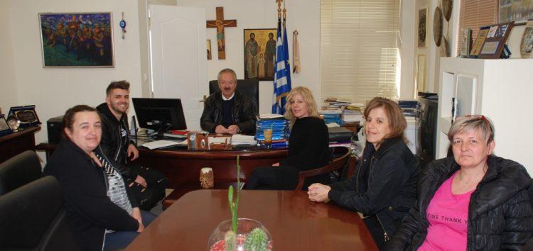 Συνάντηση του δημάρχου Φλώρινας με τους «Νέους Ορίζοντες» Σιταριάς για το 7ο Παμμακεδονικό Αντάμωμα