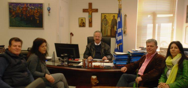 Συνάντηση του δημάρχου Φλώρινας με το σύλλογο γονέων και κηδεμόνων του 6ου δημοτικού σχολείου