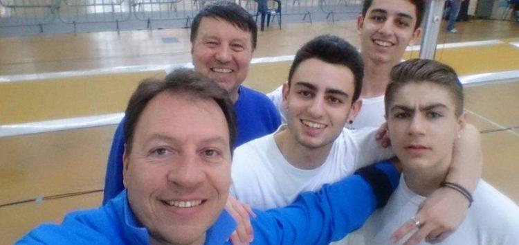 7οι στην Ευρώπη οι Έλληνες έφηβοι στο ξίφος μονομαχίας
