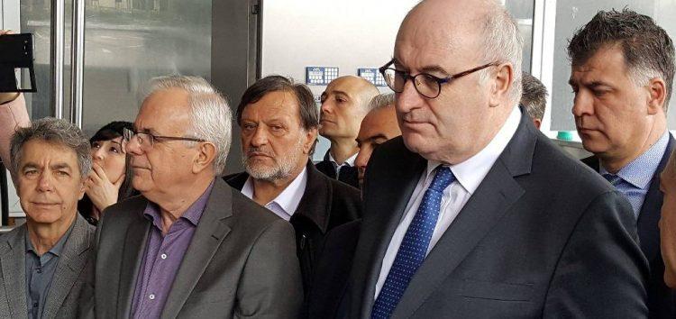 Επίσκεψη του επιτρόπου Γεωργίας και του υπουργού Αγροτικής Ανάπτυξης στο Αμύνταιο