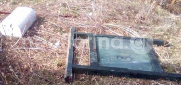 Νέες εικόνες καταστροφής στο χώρο του Σταυρού (pics)