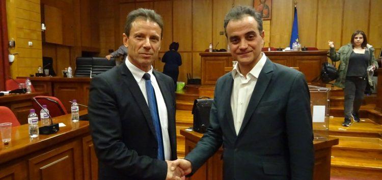 Το νέο προεδρείο του περιφερειακού συμβουλίου και τα μέλη της οικονομικής επιτροπής