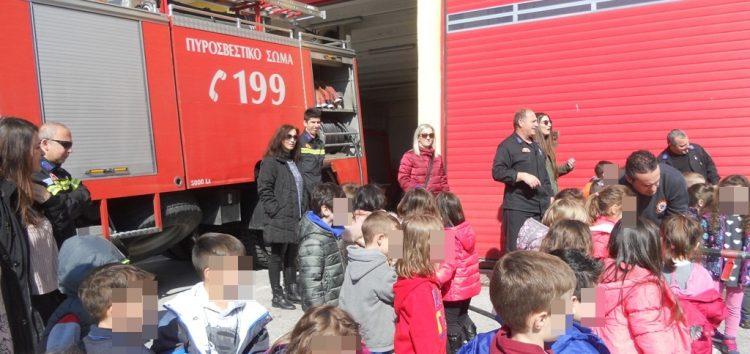 Ευχαριστήριο του 3ου νηπιαγωγείου Φλώρινας προς την Πυροσβεστική Υπηρεσία Φλώρινας