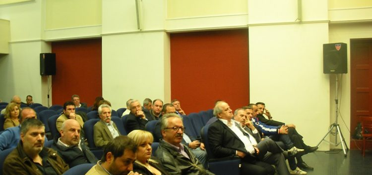 Διευρυμένη συνάντηση της ΝΟΔΕ Φλώρινας στο Αμύνταιο (pics)