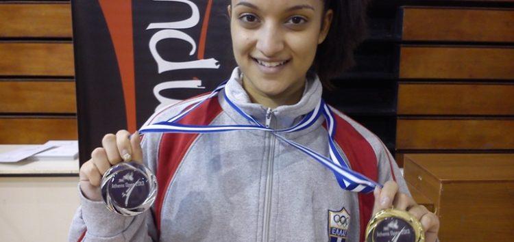 Η Ειρήνη – Μαρία Τσαρτσιταλίδου στο Πανελλήνιο Πρωτάθλημα Καράτε