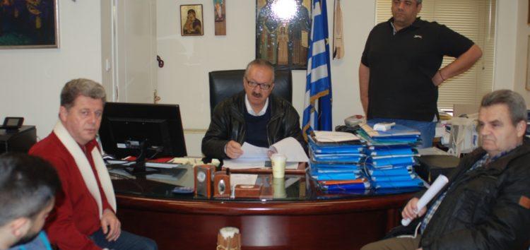 Συνάντηση του δημάρχου Φλώρινας με μαθητές του ΕΠΑΛ που θα απασχοληθούν στο δήμο
