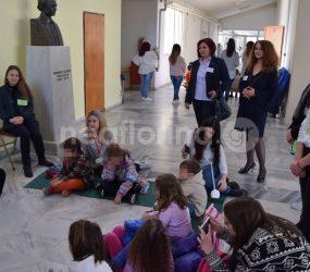 Η Παγκόσμια Ημέρα Αφήγησης από το Βιβλιολογείο της Παιδαγωγικής Σχολής Φλώρινας (video, pics)