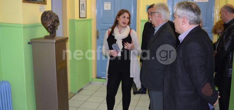 Η επίσκεψη του υπουργού Παιδείας στο 5ο δημοτικό σχολείο Φλώρινας (video, pics)