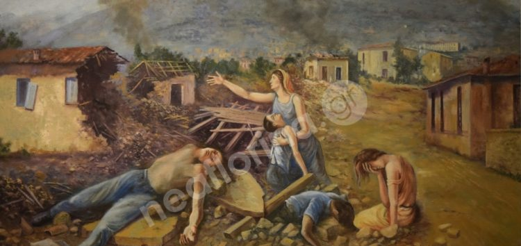 Δωρεά πίνακα στον «Αριστοτέλη» από τον ζωγράφο Παναγιώτη Κελεμπεκίδη (video, pics)