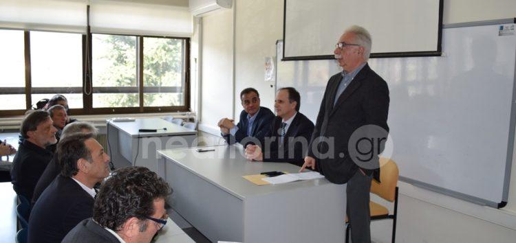 Γαβρόγλου: «Σε διαδικασία επίλυσης το ρυμοτομικό του Πανεπιστημίου» (video, pics)