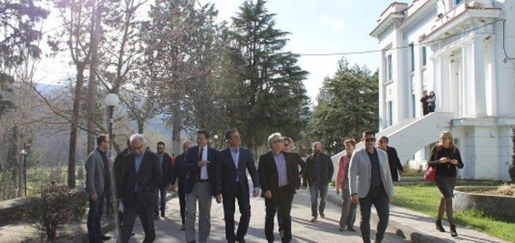 Στο ΤΕΙ Δυτικής Μακεδονίας ο υπουργός Παιδείας (pics)