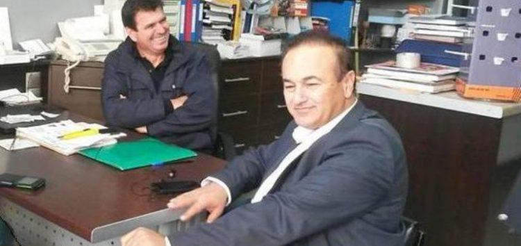 Συγχαρητήριο του βουλευτή Γ. Αντωνιάδη προς το νέο πρόεδρο του Εμπορικού Συλλόγου Αμυνταίου