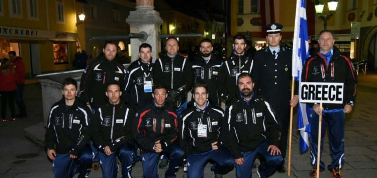 Φλωρινιώτες αστυνομικοί στο πανευρωπαϊκό πρωτάθλημα χιονοδρομίας αστυνομίας