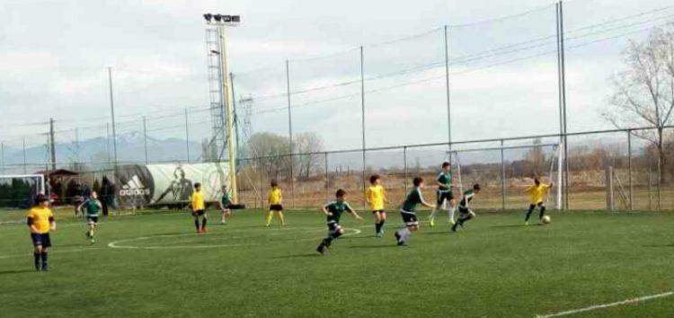 Ποδοσφαιρική συνάντηση ακαδημιών στο Tsotakis Place