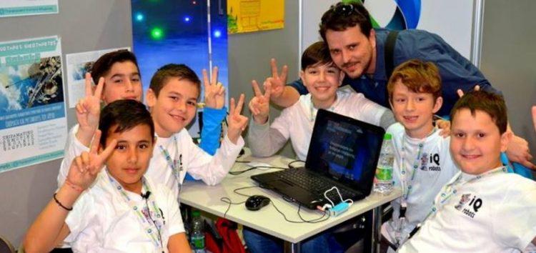 Συμμετοχή του Πειραματικού Δημοτικού Σχολείου Φλώρινας στον 3ο Πανελλήνιο Διαγωνισμό Εκπαιδευτικής Ρομποτικής