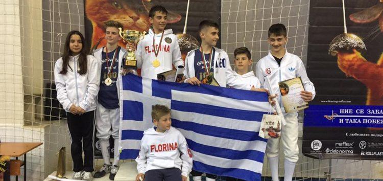 6 μετάλλια για τον Ο.ΞΙ.Φ. στο Ευρωπαϊκό Κύπελλο U15 – U14 – U11