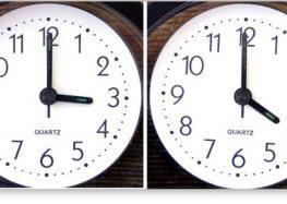 Ξημερώματα Κυριακής πάμε τα ρολόγια μια ώρα μπροστά