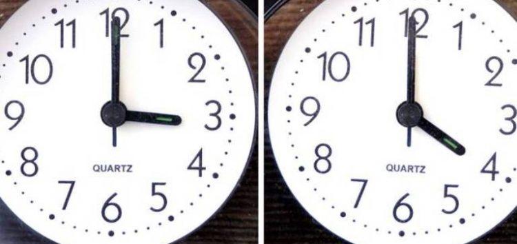 Αλλάζει η ώρα την Κυριακή