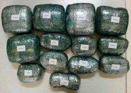 Τρεις Αλβανοί επιχείρησαν να περάσουν στη χώρα 9,5 κιλά κάνναβης κρυμμένα στη ρεζέρβα του αυτοκινήτου (video, pics)