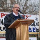Ο δήμαρχος Φλώρινας στο συλλαλητήριο κατά της πώλησης μονάδων της ΔΕΗ (video, pics)