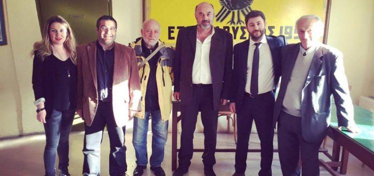 Επίσκεψη του ευρωβουλευτή Νίκου Ανδρουλάκη στην Εύξεινο Λέσχη Φλώρινας (pics)