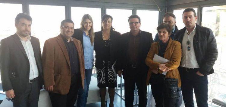 Συνάντηση της ΝΕ ΠΑΣΟΚ Φλώρινας με την Ευρωβουλευτή Εύα Καϊλή