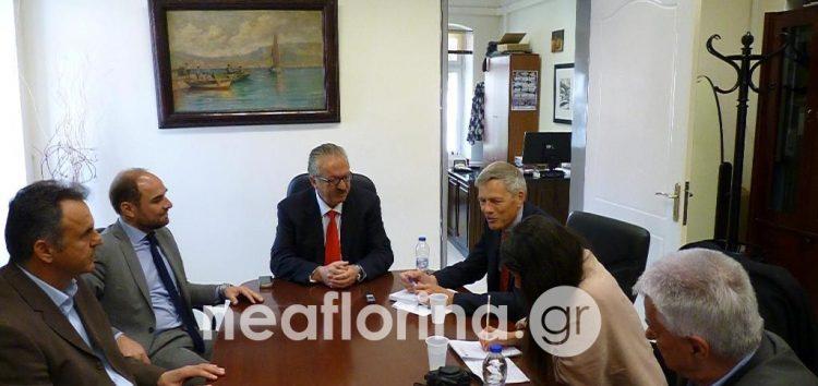 Συνάντηση του δημάρχου Φλώρινας με τον Γενικό Πρόξενο της Γερμανίας (pics)