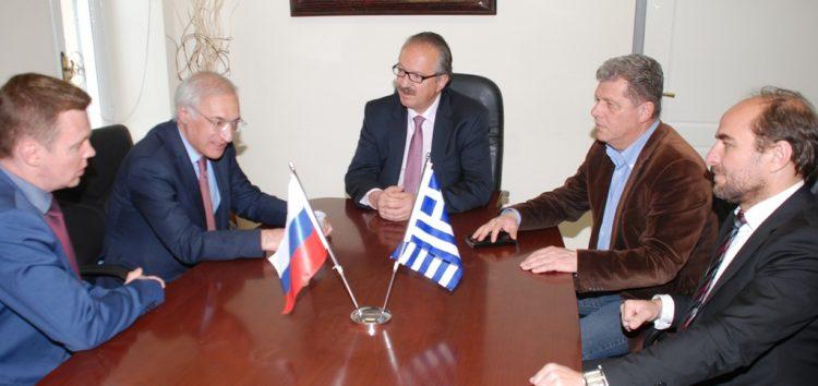 Συνάντηση του δημάρχου Φλώρινας με τον Γενικό Πρόξενο της Ρωσίας (video, pics)