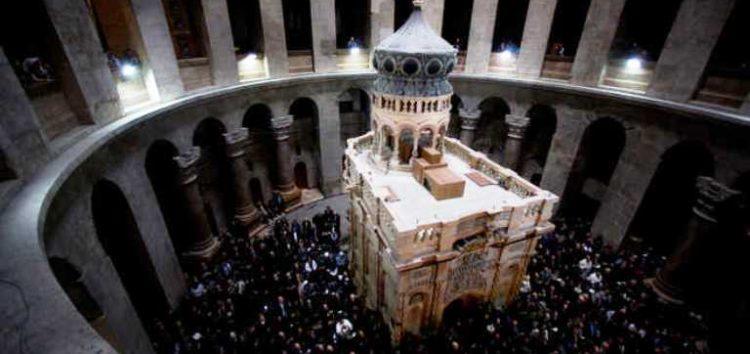 Ομιλία για τον Πανάγιο Τάφο και το Ελληνορθόδοξο Πατριαρχείο Ιεροσολύμων