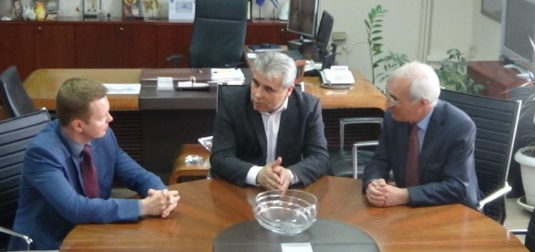 Επίσκεψη του Γενικού Πρόξενου της Ρωσίας στη Θεσσαλονίκη στον Αντιπεριφερειάρχη Φλώρινας (video)