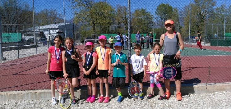 Συμμετοχή της Ομάδας Τένις της Λέσχης Πολιτισμού Φλώρινας στο 3ο προπαιδικό πρωτάθλημα