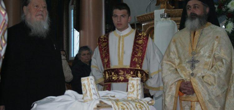 Εσπερινός της Αγάπης στον Ιερό Ναό Αγίου Γεωργίου