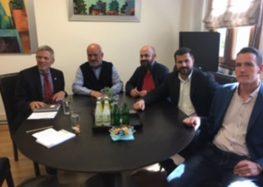 Επίσκεψη του Γενικού Πρόξενου της Γερμανίας στο δήμο Αμυνταίου