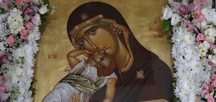 Ο εορτασμός της Παναγίας Πελαγονίτισσας στον Ι.Ν. Αγίας Παρασκευής