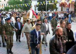 Ο εορτασμός των πολιούχων του Αμυνταίου, Αγίων Κωνσταντίνου και Ελένης (video)