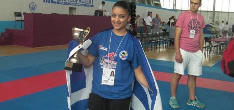 Η Ειρήνη – Μαρία Τσαρτσιταλίδου στο Πανευρωπαϊκό Πρωτάθλημα Καράτε Περιοχών