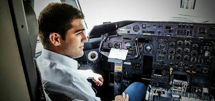 1η θέση για τον Φλωρινιώτη Στέφανο Ιωαννίδη στους Αγώνες Γενικής Αεροπορίας στο Μάλεμε (video, pics)