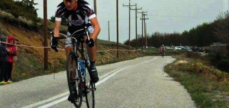 1η θέση για τον έφηβο ποδηλάτη του ΑΟΦ Άγγελο Σαράφη στην Ανάβαση Βλάστης
