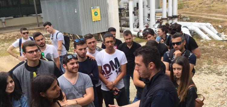 Εκπαιδευτική εκδρομή φοιτητών του τμήματος Τεχνολόγων Γεωπόνων του ΤΕΙ στη Σαγιάδα Ηγουμενίτσας