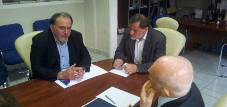 Επίσκεψη του υπουργού Οικονομίας και Ανάπτυξης στο Επιμελητήριο Φλώρινας
