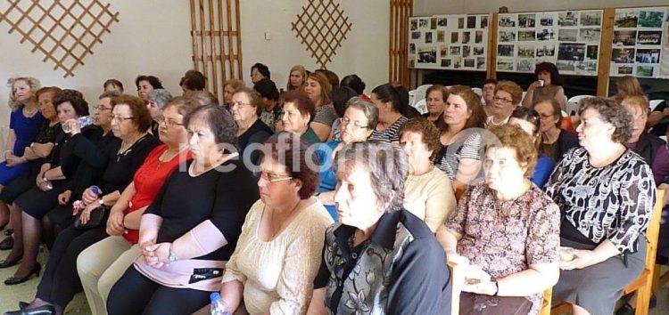 Εκδήλωση του Πολιτιστικού Συλλόγου Αρμενοχωρίου για τη γιορτή της μητέρας (video, pics)