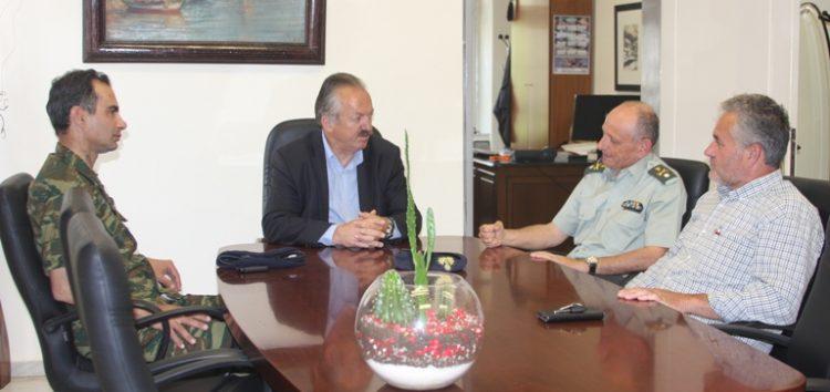 Συνάντηση του δημάρχου Φλώρινας με τον διοικητή της 9ης Μ/Π ΤΑΞ