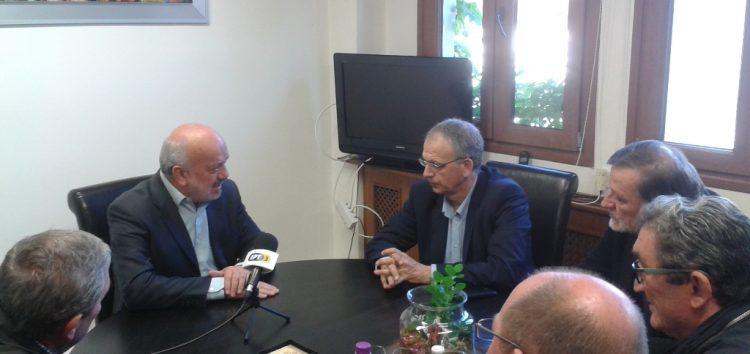 Επίσκεψη του γραμματέα του ΣΥΡΙΖΑ Π. Ρήγα στο δήμο Αμυνταίου (pics)
