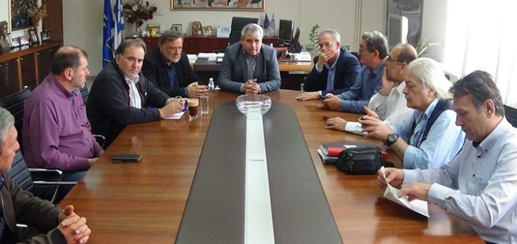 Επίσκεψη του Γενικού Γραμματέα της ΚΕ του ΣΥΡΙΖΑ στον Αντιπεριφερειάρχη Π.Ε. Φλώρινας