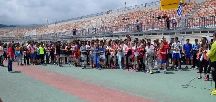 Οι αγώνες αθλοπαιδείας – κλασικού αθλητισμού των γυμνασίων της Π.Ε. Φλώρινας (video, pics)