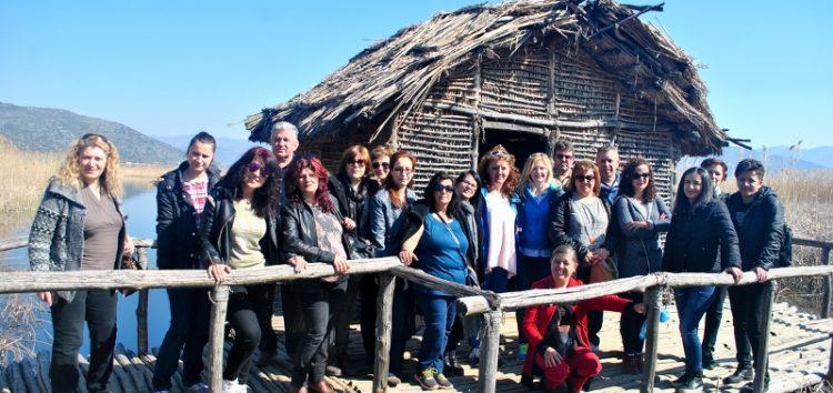 Εκπαιδευτική επίσκεψη του Σχολείου Δεύτερης Ευκαιρίας Φλώρινας στην Καστοριά