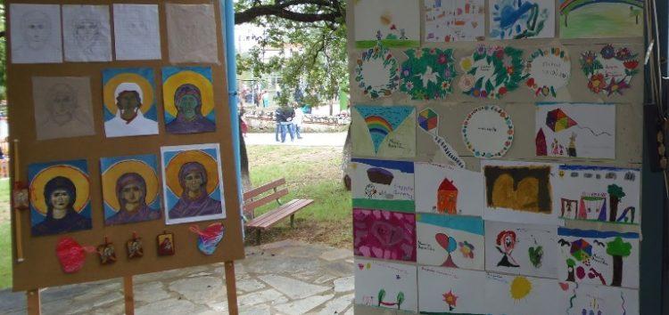 Μαρία Τοτού: Έκθεση ζωγραφικής και αγιογραφίας «Άγιος Κήρυκος»