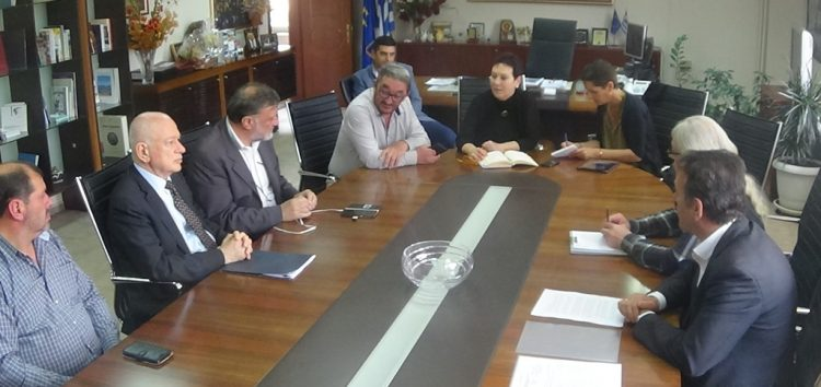 Επίσκεψη του Υπουργού Οικονομίας και Ανάπτυξης στα γραφεία της Π.Ε. Φλώρινας (video, pics)