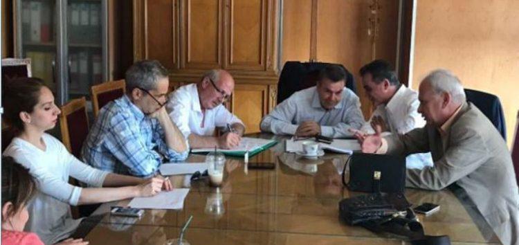 Συνάντηση του Σωματείου Συνταξιούχων ΔΕΗ με τον υφυπουργό Εργασίας