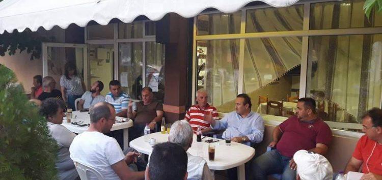 Ο βουλευτής Γιάννης Αντωνιάδης επισκέφτηκε την κοινότητα Βαλτονέρων